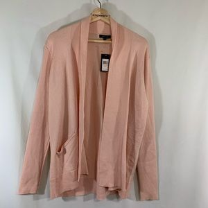 NWT Verve Ami Open front cardigan sweater Large